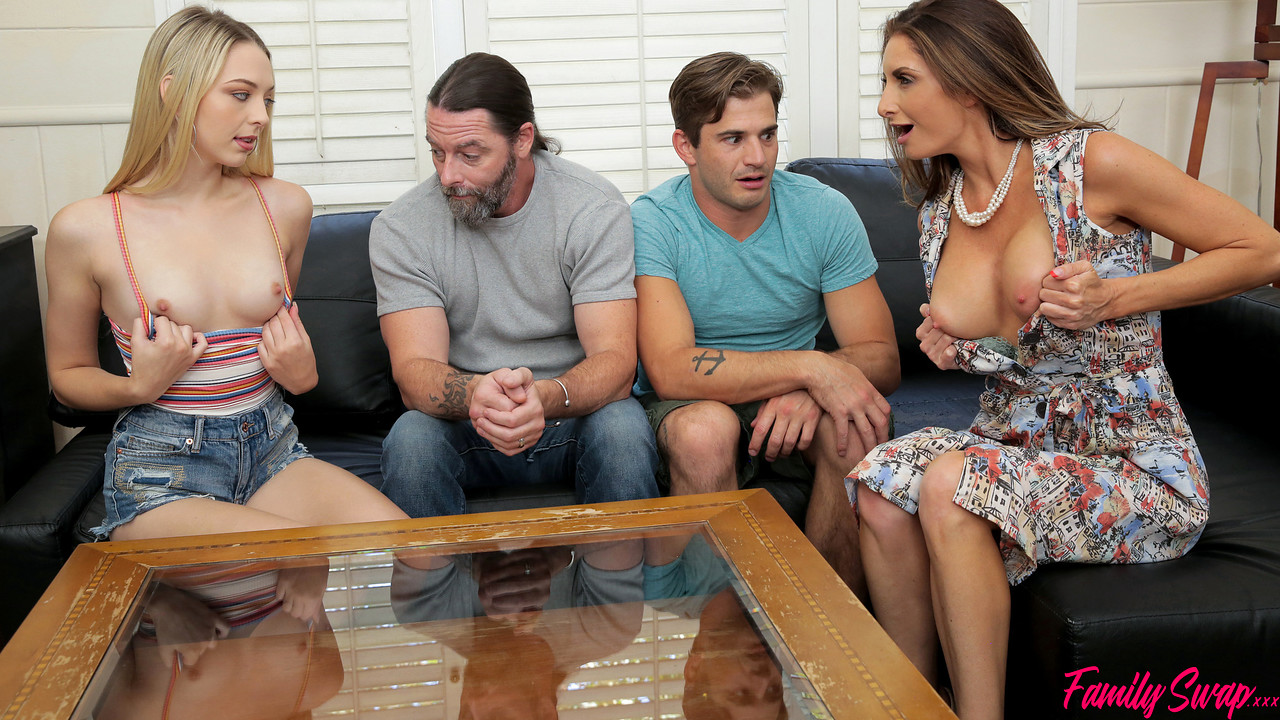 FamilySwap - Lily Larimar - Silvia Saige - When The Swap Goes Wrong